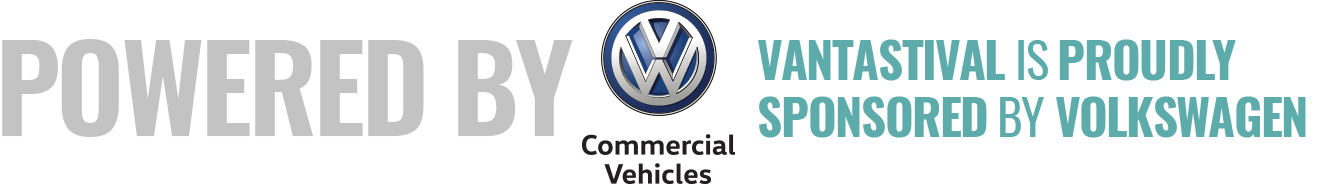 Vantastival is proudly powered by Volkswagen